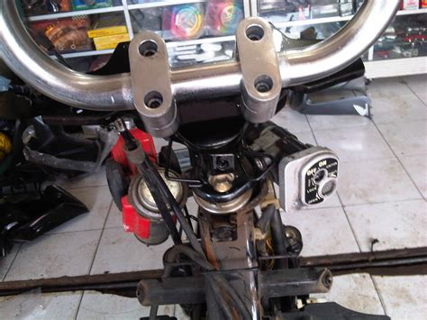 Modif Jupiter Mx Stang by 81 Modifikasi Motor Bebek Pake Stang Trail Modifikasi Trail