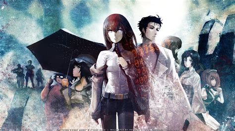 steins gate fanart oc steins gate wallpaper anime