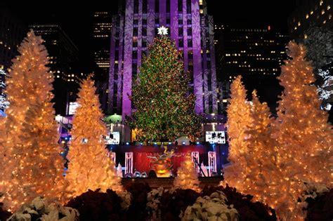 new york tree lighting in new york tree in new york