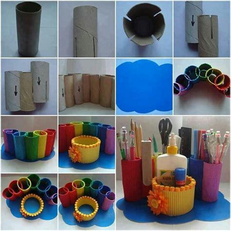 paper craft at home for ideas divertidas para reciclar los tubos de papel
