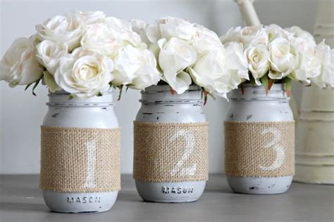 rustic table centerpieces wedding table numbers rustic wedding decor wedding