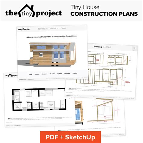 small home construction our tiny house floor plans construction pdf sketchup
