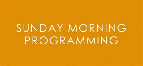 sunday morning show troy community television downtown troy ohio tv on demand