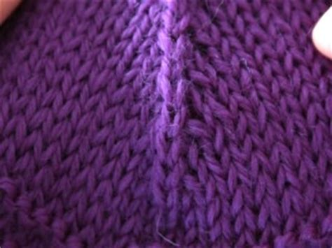 psso in knitting decreases revisited techniques with theresa fall 2009