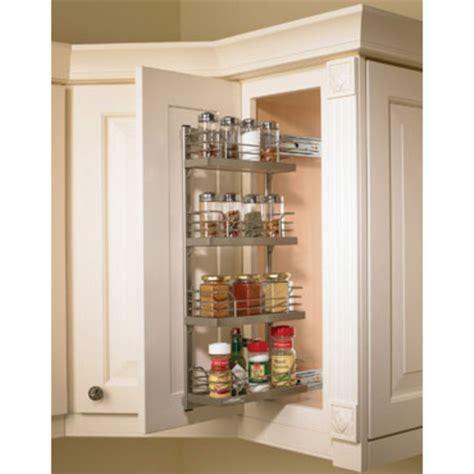 inside cabinet door spice rack hafele kessebohmer spice rack for mounting on cabinet door