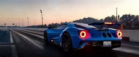 2017 Ford Gt 1 4 Mile by 2017 Ford Gt Does 10s 1 4 Mile Run With Heffner Exhaust