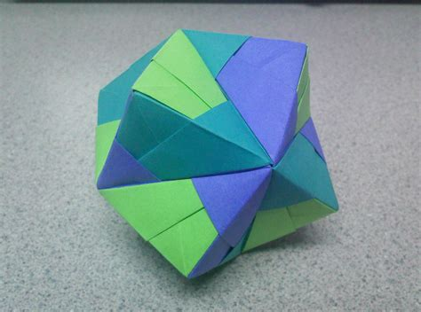 origami stellated octahedron origami stellated octahedron side by theorigamiarchitect
