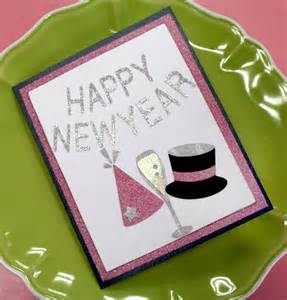 year cards to make oh my crafts happy new year invitation