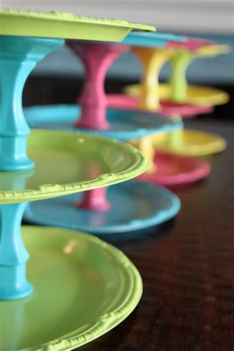 dollar store crafts a twist on tiered trays color pop 187 dollar store crafts
