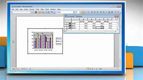 on microsoft word how to make a bar graph in microsoft 174 word 2010