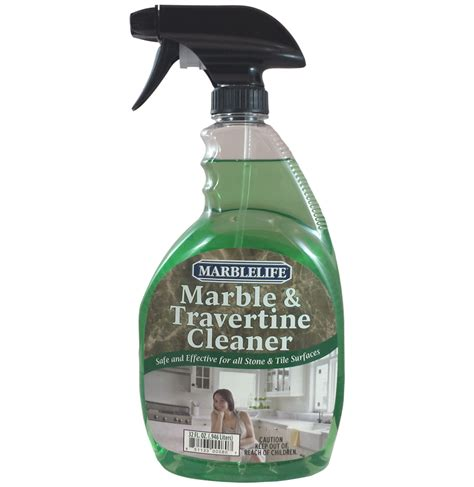 Eco Friendly Shower Cleaner by Marble Travertine Cleaner 32 Spray