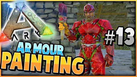 ark spray painter dino ark survival evolved painting armour dino s s2 ep 13