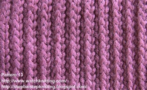 patterns for knitting stripe stitch free knitting tutorial knitting