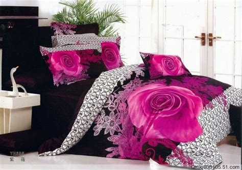 black and pink bedding set pink and black size bedding bedroom ideas pictures