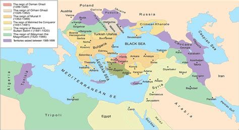 ottoman empire located map of ottoman empire with facts istanbul tour guide