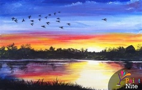 paint nite island pictures paint nite end of summer