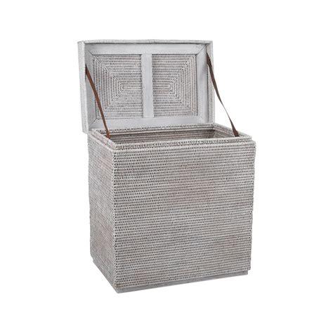 buy baolgi rectangular laundry basket white amara