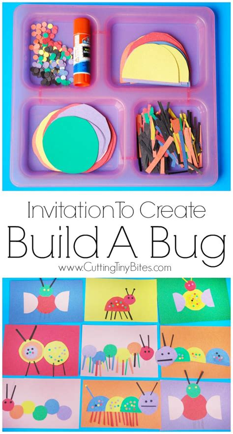 the paper company crafts and creativity invitation to create build a bug insects creative and