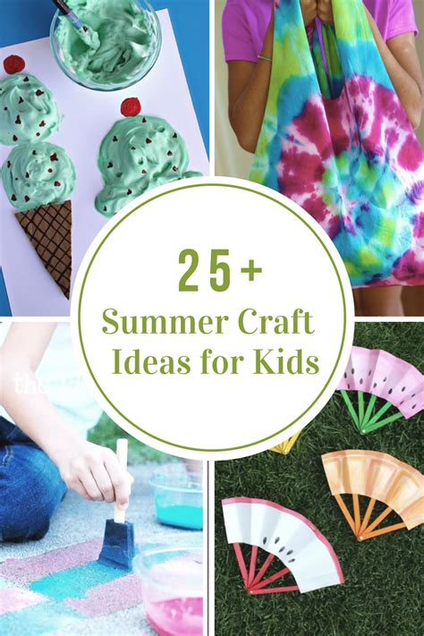 summer craft ideas for 40 creative summer crafts for that are really