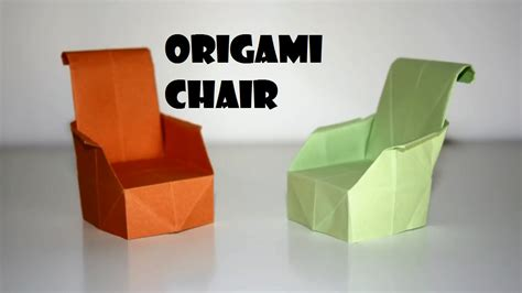 how to make an origami chair origami move around with your origami chair the anonimiss