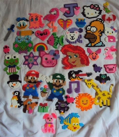 how to make perler bead perler bead ideas on perler hama