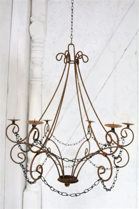 iron candle chandelier 12 hanging candle chandeliers you can buy or diy