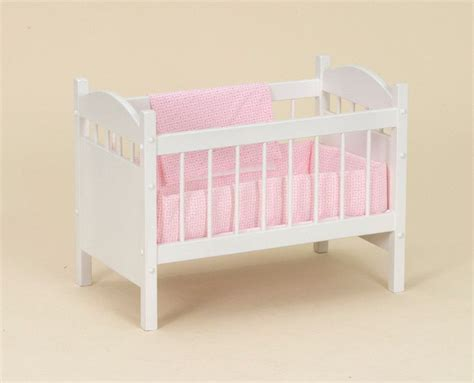 baby doll wooden crib wooden doll crib with bedding bitty baby reborn bassinet