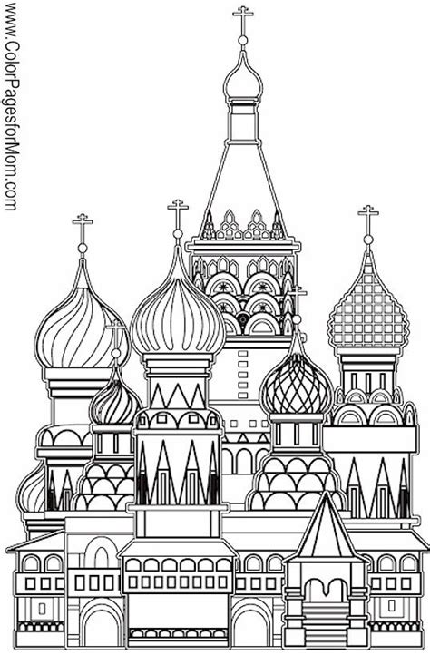 church coloring page 11 coloring pages