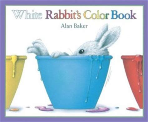 rabbits picture book white rabbit s color book nemours reading brightstart