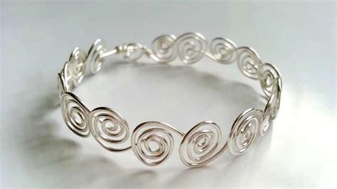 bracelet wire for how to create swirly wire bracelets diy crafts tutorial