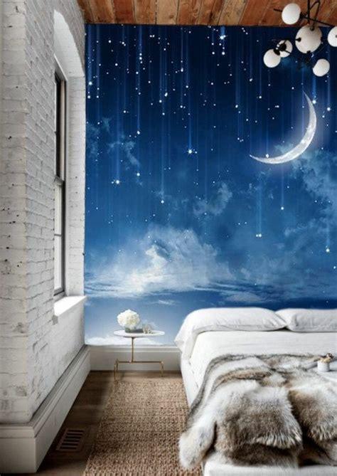 bedroom mural ideas 1001 mod 232 les de papier peint 3d originaux et modernes