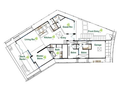 environmentally friendly house plans ultra sustainable and eco friendly modern house in los angeles