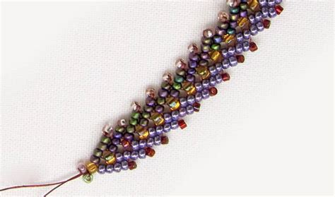 bead weaving for beginners how to bead the st petersburg chain