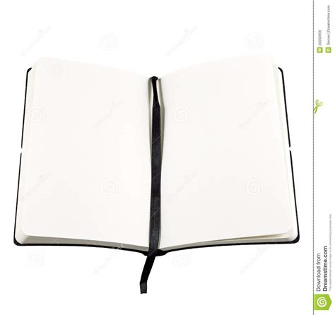 picture of an open book with blank pages open book with blank page royalty free stock image
