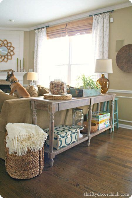 decorate sofa table 25 best ideas about sofa table styling on