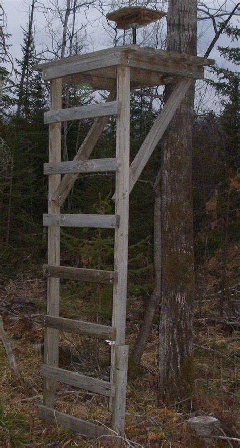 tree stand plans deer tree stands