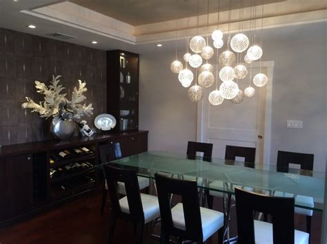 modern dining room chandeliers mod chandelier contemporary dining room new york