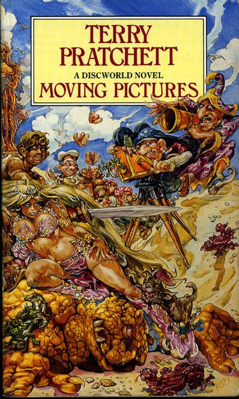 moving pictures book terry pratchett quotes from books quotesgram