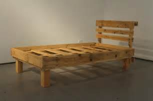 how to make a wood bed frame diy pallet bed frames for your bed room pallets designs