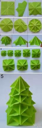 modular origami tree kerstboom vouwen origami kerst origami