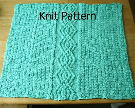 cable baby blanket knitting pattern free knit pattern baby blanket pattern cable warm unique on