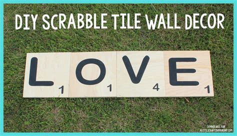 diy scrabble wall diy scrabble tile wall decor a craft in your day
