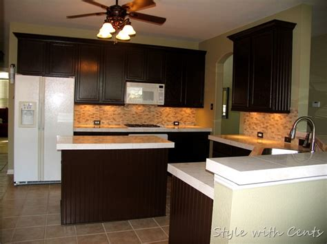 Sherwin Williams Turkish Coffee style with cents the 750 complete kitchen remodel