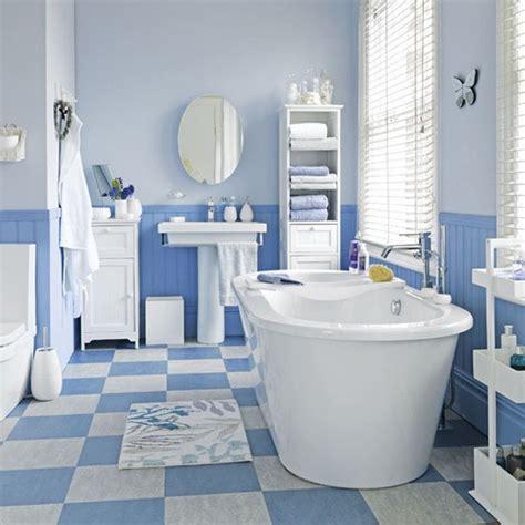 bathroom ideas blue and white coastal style blue and white floor tiles bathroom tile