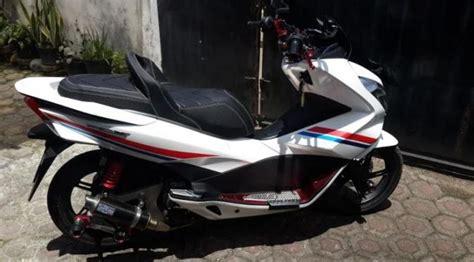 Pcx 2018 Tak Belakang by 7 Galeri Foto Modifikasi Honda Pcx 150