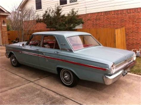 1964 Ford Fairlane For Sale by 1964 Ford Fairlane 500 For Sale Classiccars Cc 779964