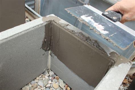 concrete planter boxes diy modern minimal concrete planter boxes
