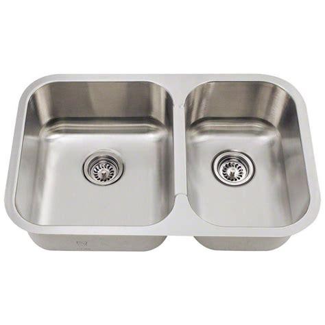 undermount kitchen sink stainless polaris sinks undermount stainless steel 28 in