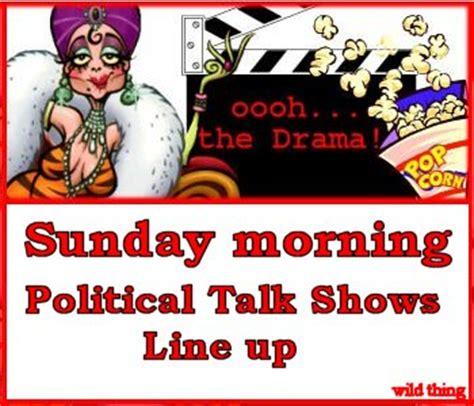 sunday morning show pc free zone