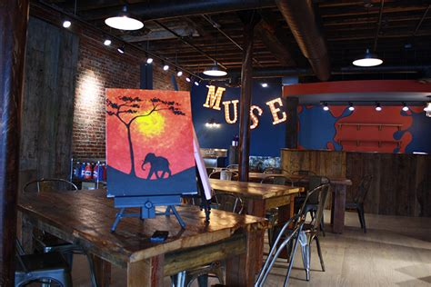 muse paintbar stan finch paint while you drink muse paintbar in portland opens